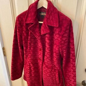Static Red Coat - Excellent Condition